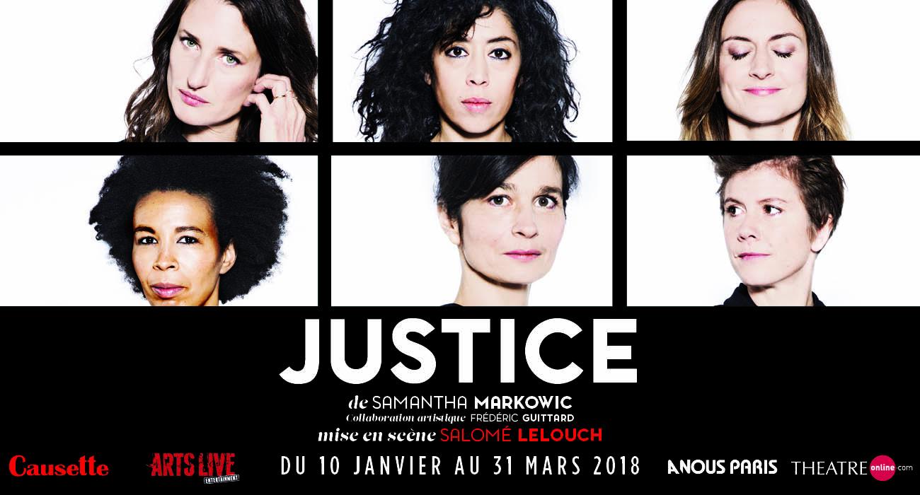 Justice : une pièce forte et engagée au Théâtre de l'Oeuvre